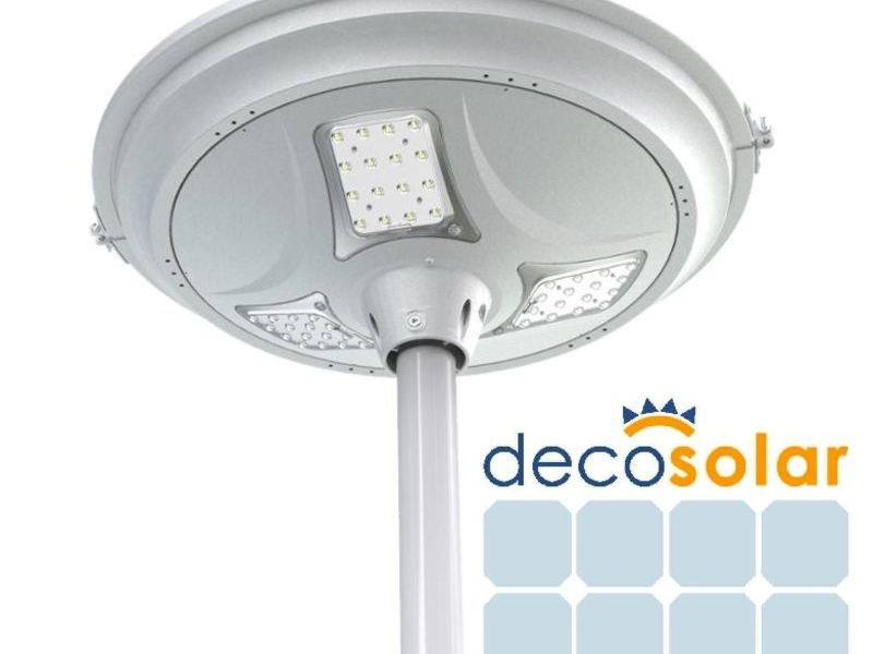 DEC-PARQUE-14 A, Luminaria Solar Ornamental