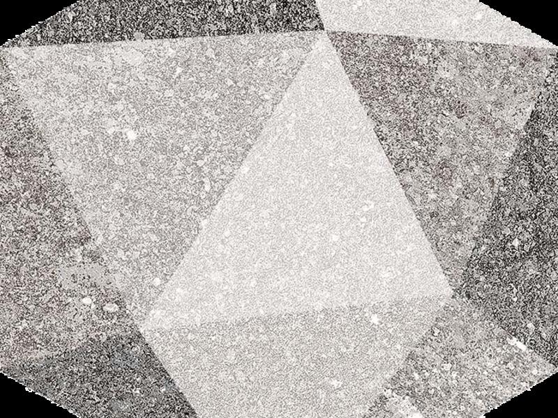 Cerámica Hexagono Luton Multicolor 23x26.6