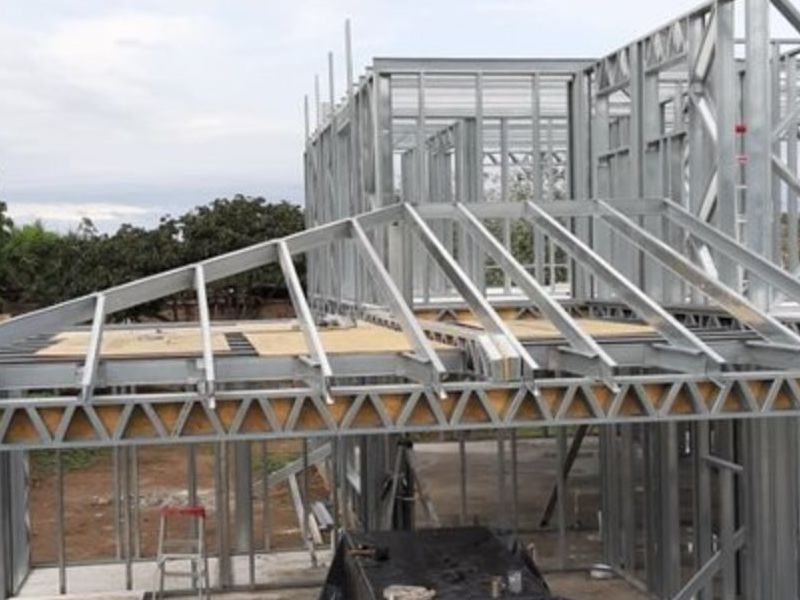 Proyecto TERMOSTEEL 260m2 - Steel Framing