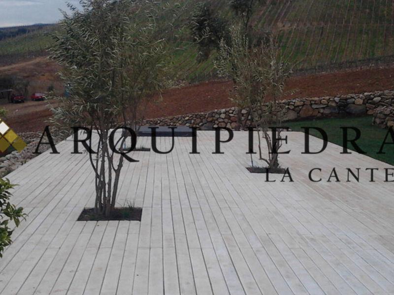 Deck de Piedra Preformada Arquipiedras