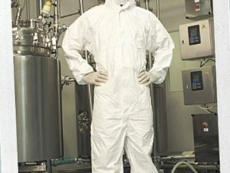 Buzo desechable, traje de bioseguridad