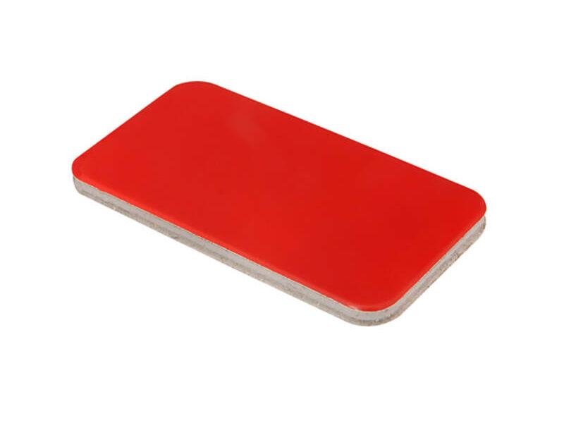 Plancha aluminio compuesto rojo