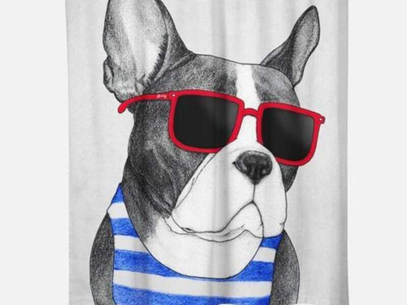 Cortina de Baño Frenchie Summer Style CHILE