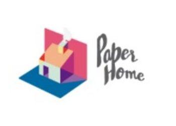 CORTINA DE BAÑO HEXÁGONOS ILUSTRADOS CHILE - PAPER HOME