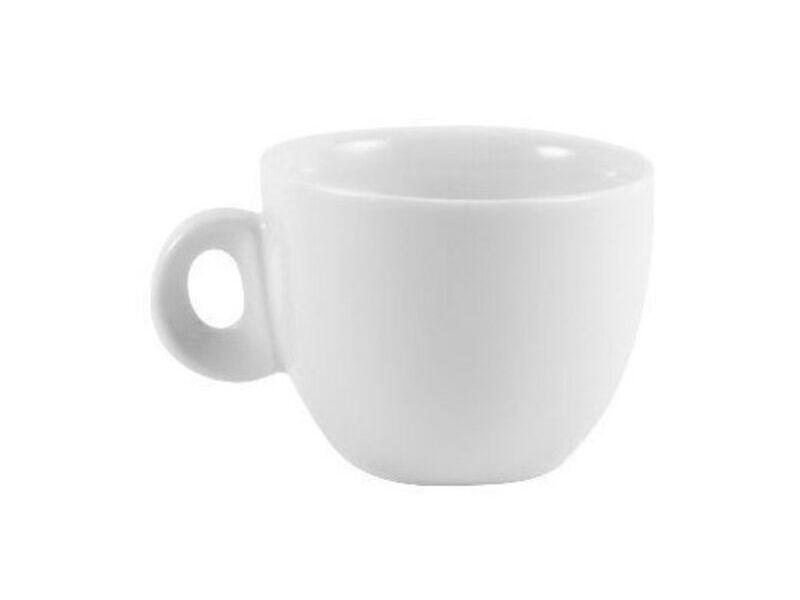 Taza Cafe Party 80 ml Porcelana Blanco