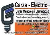 Obras menores y electricidad - Cesar arza y compañia limitada